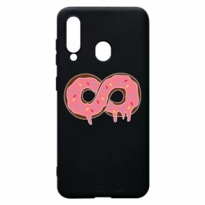 Phone case for Samsung A60 Endless donut - PrintSalon