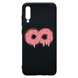 Phone case for Samsung A70 Endless donut - PrintSalon