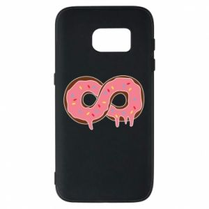 Phone case for Samsung S7 Endless donut - PrintSalon