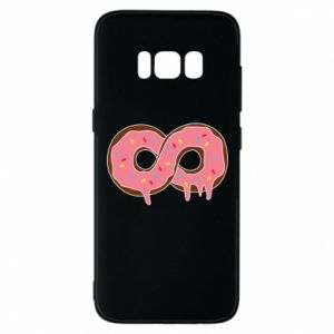 Phone case for Samsung S8 Endless donut - PrintSalon