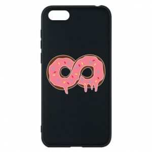 Phone case for Huawei Y5 2018 Endless donut - PrintSalon