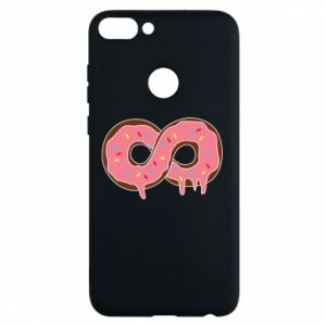 Phone case for Huawei P Smart Endless donut - PrintSalon