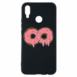 Phone case for Huawei P Smart Plus Endless donut - PrintSalon