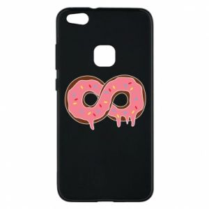 Phone case for Huawei P10 Lite Endless donut - PrintSalon