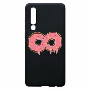 Phone case for Huawei P30 Endless donut - PrintSalon