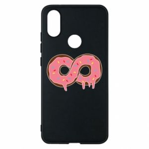 Phone case for Xiaomi Mi A2 Endless donut - PrintSalon
