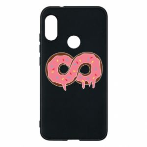 Phone case for Mi A2 Lite Endless donut - PrintSalon