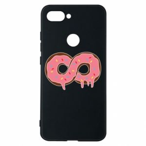 Phone case for Xiaomi Mi8 Lite Endless donut - PrintSalon
