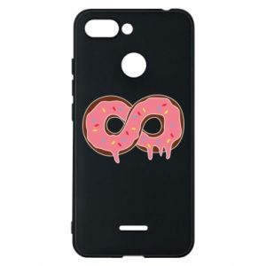 Phone case for Xiaomi Redmi 6 Endless donut - PrintSalon