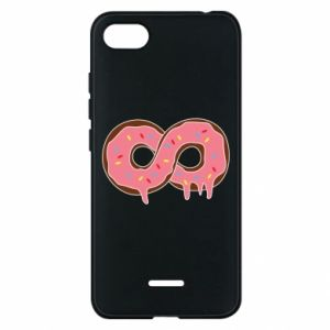 Phone case for Xiaomi Redmi 6A Endless donut - PrintSalon