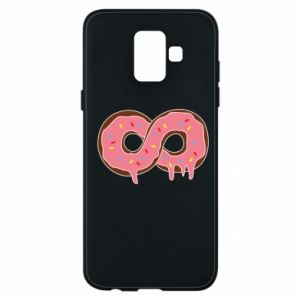 Phone case for Samsung A6 2018 Endless donut - PrintSalon