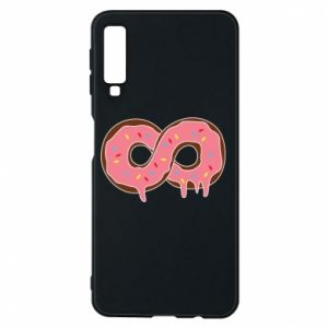 Phone case for Samsung A7 2018 Endless donut - PrintSalon