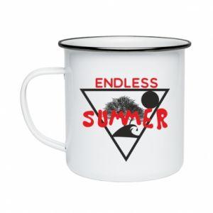 Kubek emaliowane Endless summer