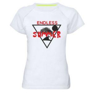 Damska koszulka sportowa Endless summer