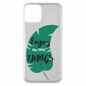 Etui na iPhone 11 Enjoy the tittle things