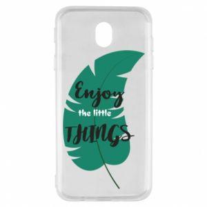 Etui na Samsung J7 2017 Enjoy the tittle things