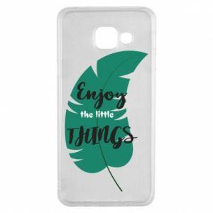 Etui na Samsung A3 2016 Enjoy the tittle things