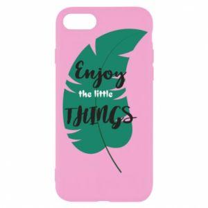 Etui na iPhone SE 2020 Enjoy the tittle things