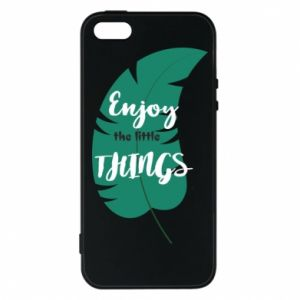 Etui na iPhone 5/5S/SE Enjoy the tittle things