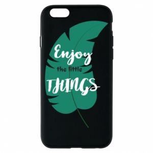 Etui na iPhone 6/6S Enjoy the tittle things