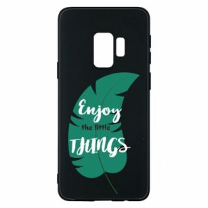 Etui na Samsung S9 Enjoy the tittle things