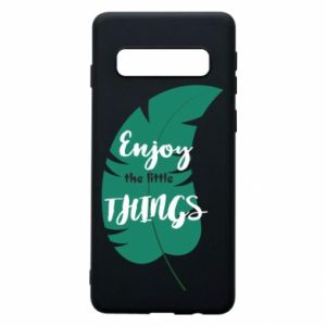 Etui na Samsung S10 Enjoy the tittle things