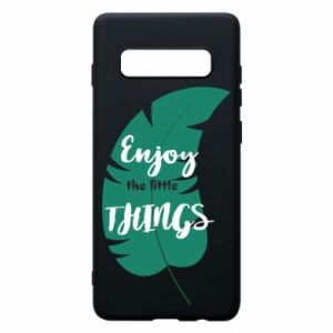 Etui na Samsung S10+ Enjoy the tittle things