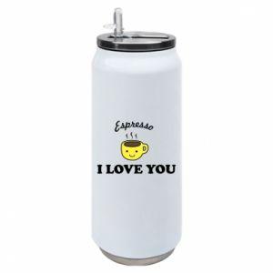 Puszka termiczna Espresso. I love you