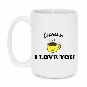 Kubek 450ml Espresso. I love you