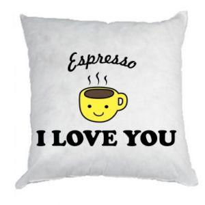 Poduszka Espresso. I love you