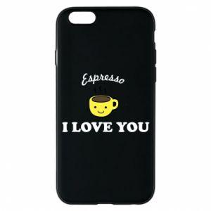 Etui na iPhone 6/6S Espresso. I love you