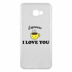 Etui na Samsung J4 Plus 2018 Espresso. I love you