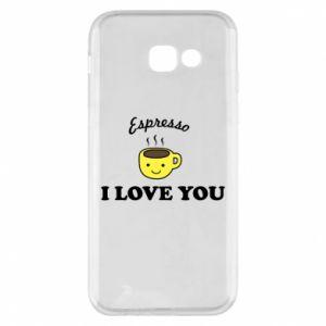 Etui na Samsung A5 2017 Espresso. I love you