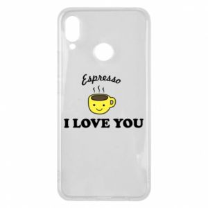 Etui na Huawei P Smart Plus Espresso. I love you