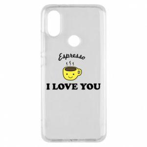 Etui na Xiaomi Mi A2 Espresso. I love you
