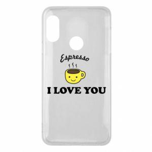 Etui na Mi A2 Lite Espresso. I love you