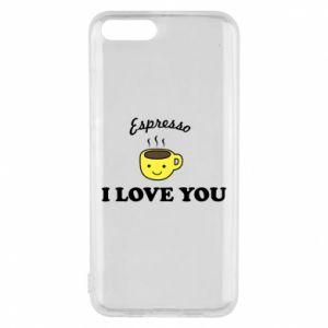 Etui na Xiaomi Mi6 Espresso. I love you