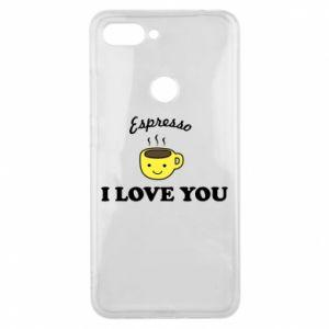 Etui na Xiaomi Mi8 Lite Espresso. I love you
