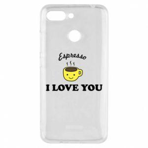 Etui na Xiaomi Redmi 6 Espresso. I love you