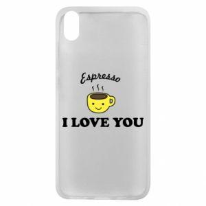 Etui na Xiaomi Redmi 7A Espresso. I love you
