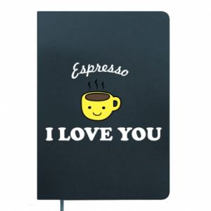 Notes Espresso. I love you