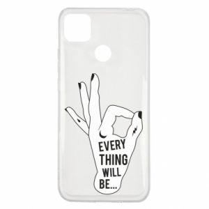 Etui na Xiaomi Redmi 9c Every thing will be ok