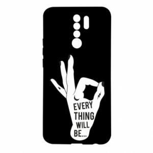 Etui na Xiaomi Redmi 9 Every thing will be ok