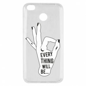 Etui na Xiaomi Redmi 4X Every thing will be ok