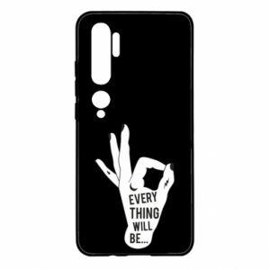 Etui na Xiaomi Mi Note 10 Every thing will be ok