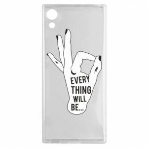 Etui na Sony Xperia XA1 Every thing will be ok
