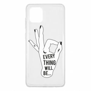 Etui na Samsung Note 10 Lite Every thing will be ok