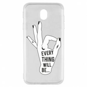 Etui na Samsung J7 2017 Every thing will be ok