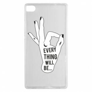 Etui na Huawei P8 Every thing will be ok