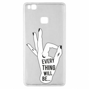 Etui na Huawei P9 Lite Every thing will be ok